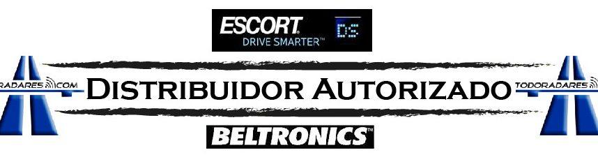 Distribuidor oficial detectores de radar Escort Beltronics