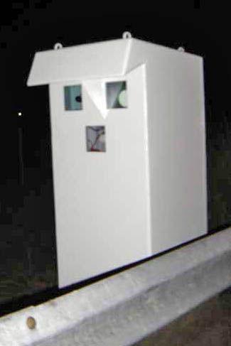 Radar de tráfico RAI 2002 cabina
