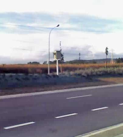 Radar de tráfico Tempocam en poste