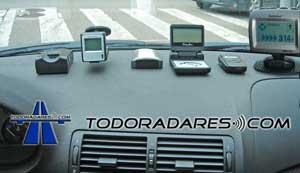 Reportajes avisadores via GPS