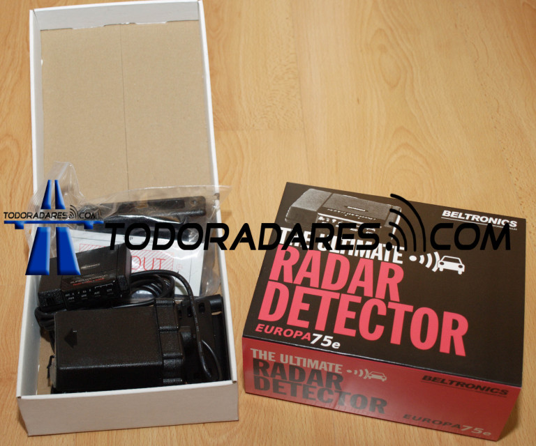 Nueva Version Detector de radar Beltronics E75