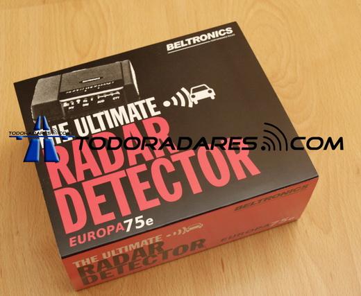 Actualizacion nuevos detectores de radar