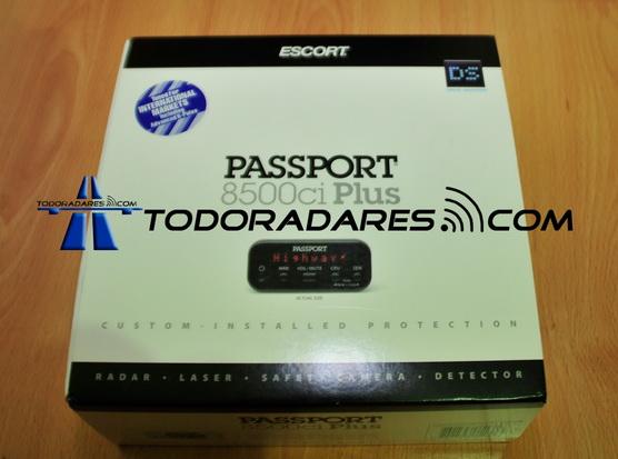 Detector de radar Escort 8500ci Plus