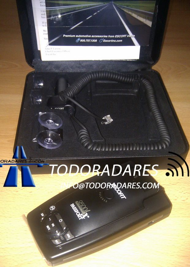 Detector radar portátil Escort 9500ix