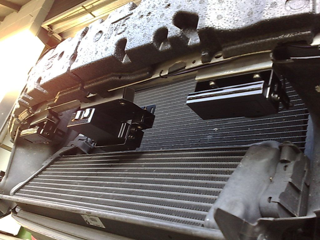 Instalación detector de radar