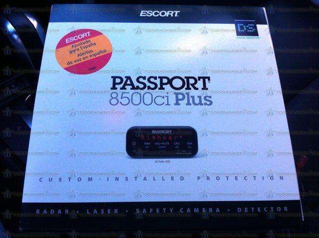 Detector de radar Escort 8500ci Plus castellano