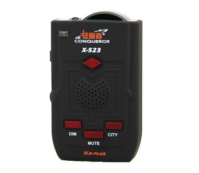 Detector radar Conqueror X323