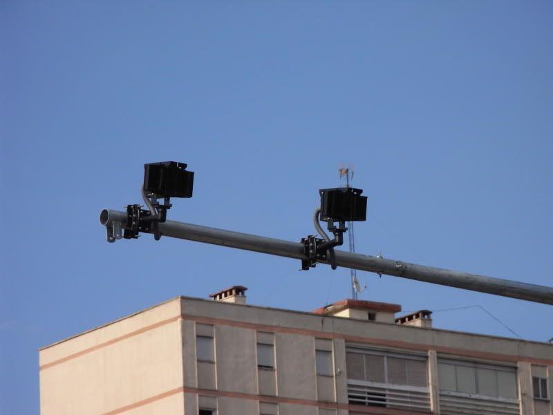 Radar semaforo fotorrojo Avenida Andalucia