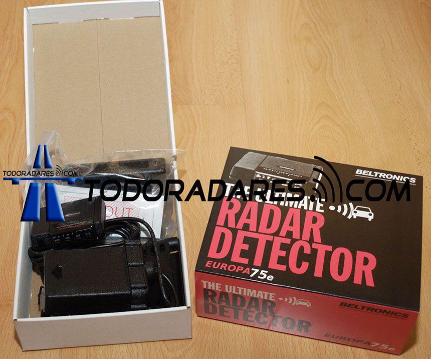 Detector radar Beltronics E75