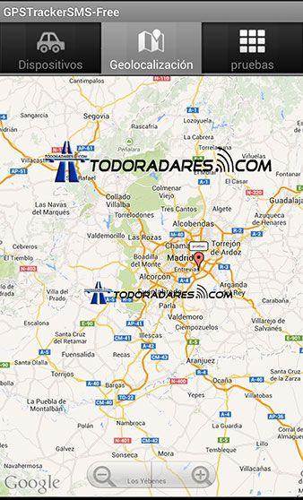 App Android Localizador GPS Xexun tk103-2