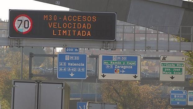 Prohibido circular matriculas impares Contaminación Madrid - protocolo 3