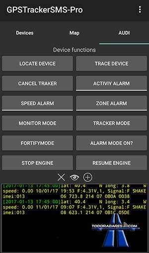 Localizador GPS Xexun tk103-2 App