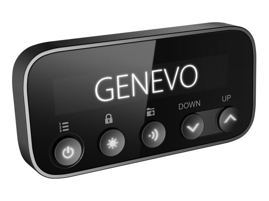 Detector radar Genevo PRO - Display