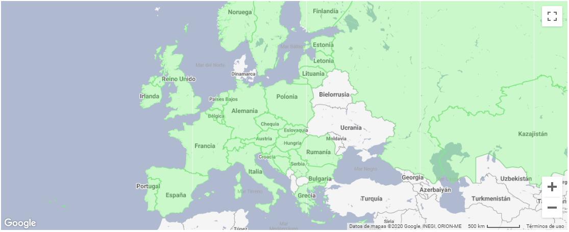 Base de datos GPS Genevo radares Europa España