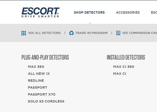 Escort 9500 ci descatalogado - discontinued