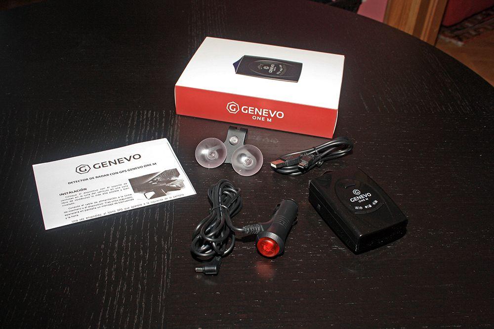Genevo ONE M unboxing