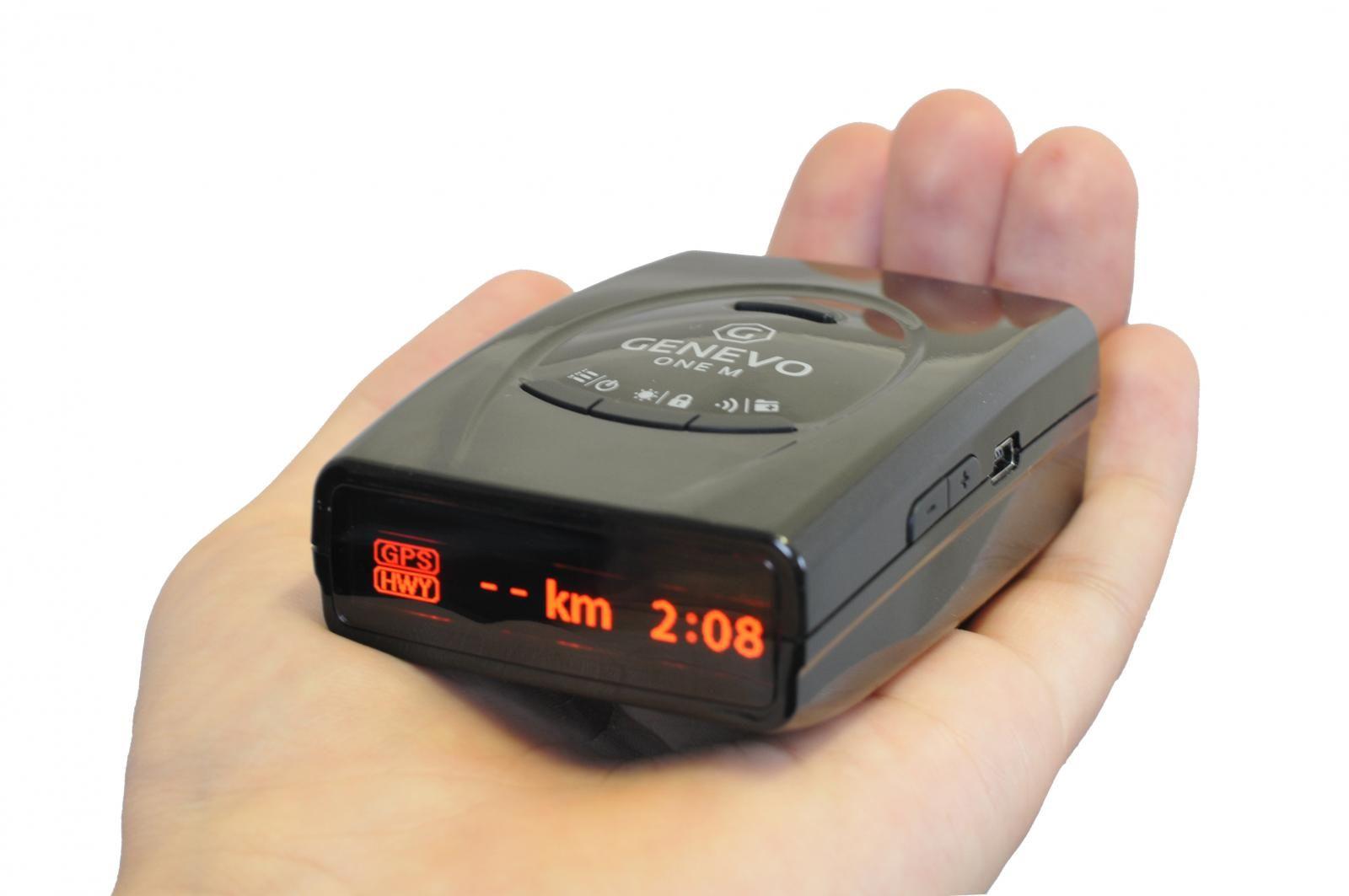 Detector radar portátil Genevo ONE M