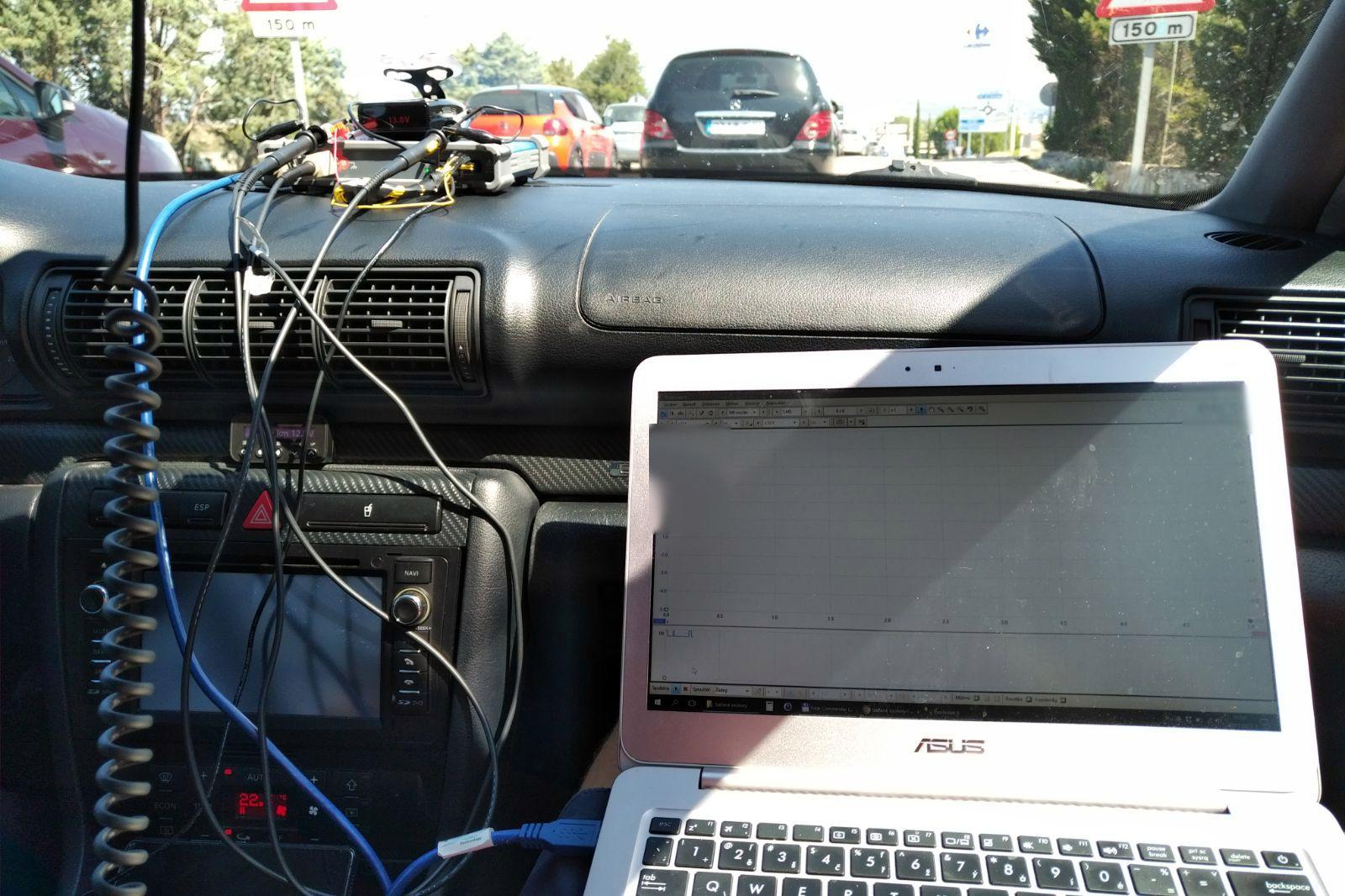 Genevo - Grabación señal sensor Mercedes