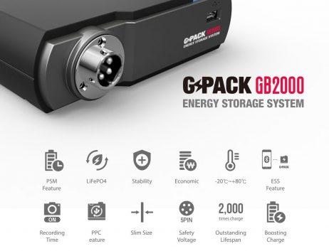 Batería GB2000 Características