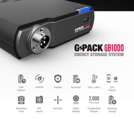 Batería GB1000 Características