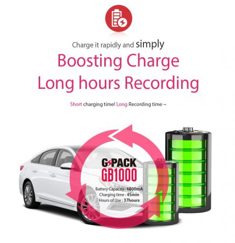 Batería GB1000 Duración