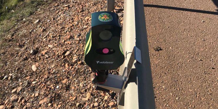 Cinemómetro laser Velolaser radar