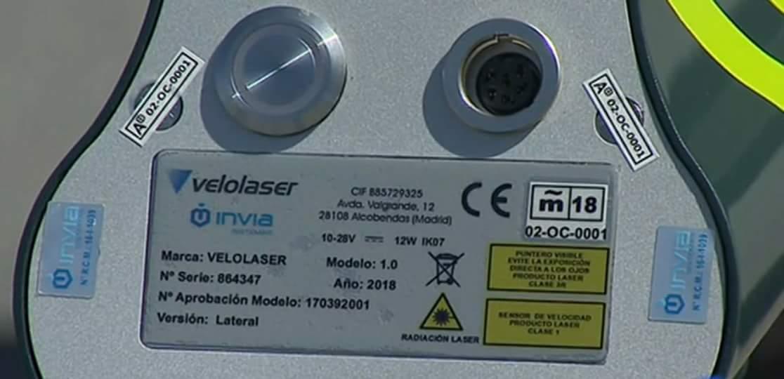 Pistola láser Velolaser laser 3R precaución