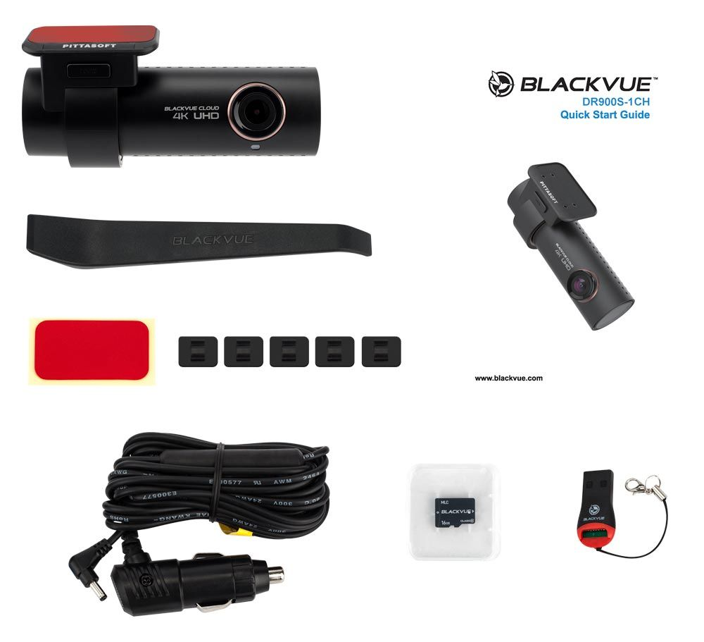 Blackvue DR900S-1CH paquete