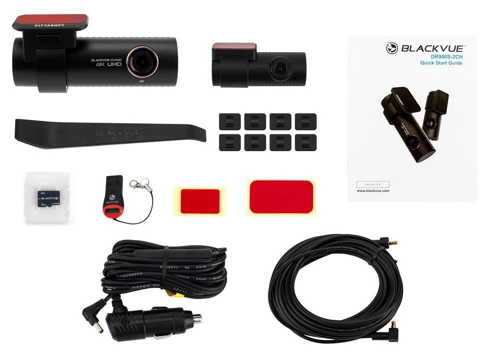 Blackvue DR900S 2CH paquete pack