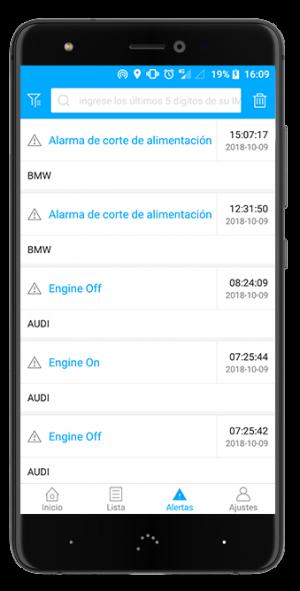 Localizador GPS Premium GT app alertas alarmas
