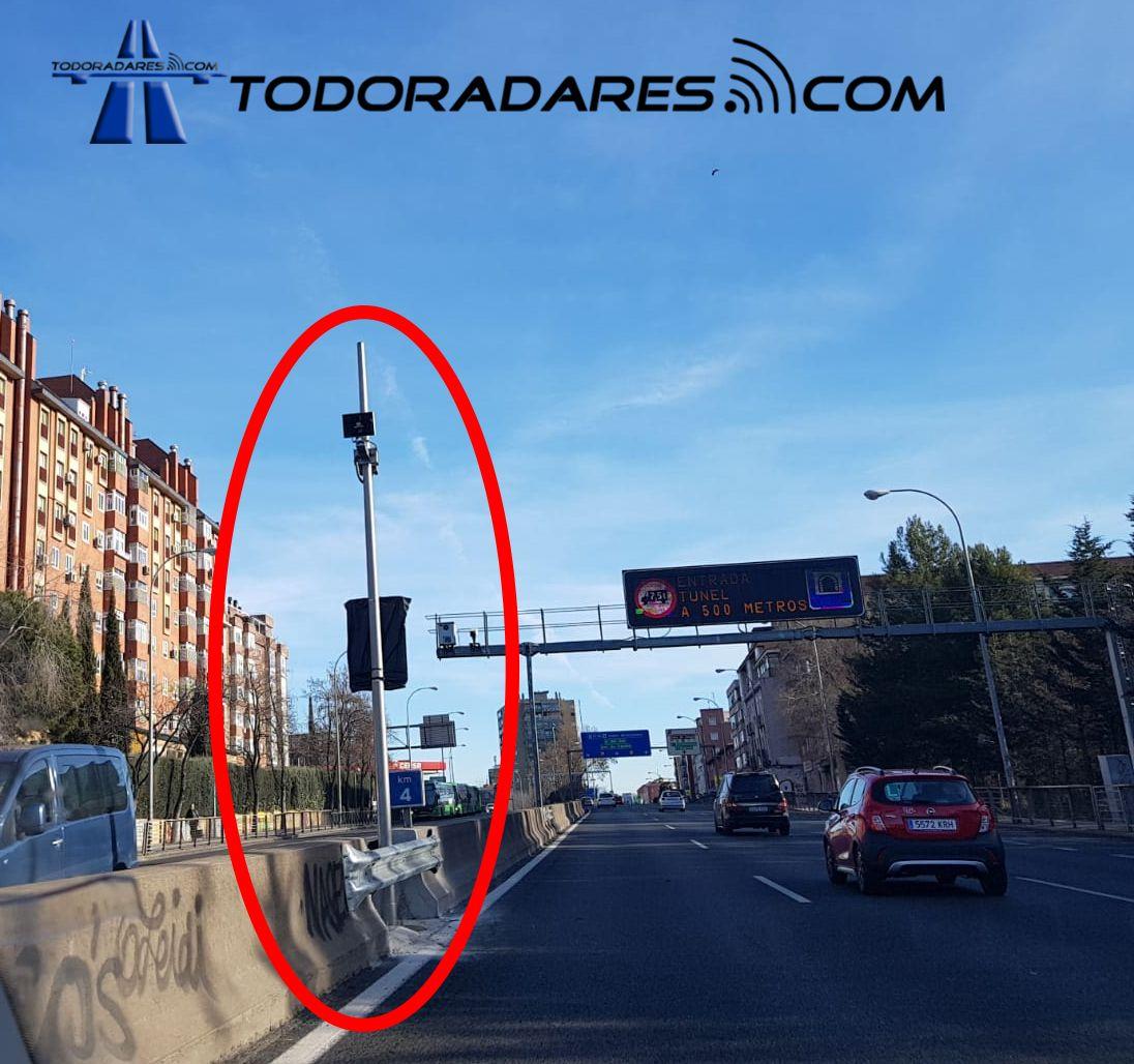 Radar Tramo A5 Madrid