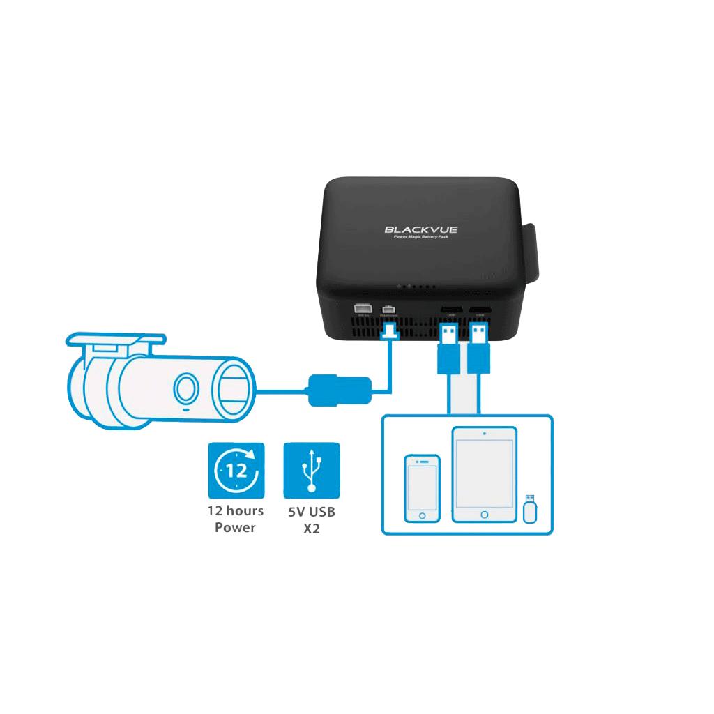 Blackvue B112 - Batería respaldo para cámaras