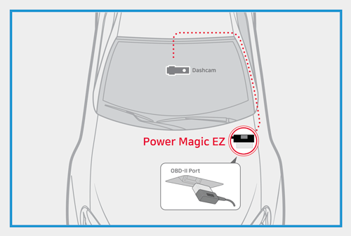 Power magic EZ conector OBD cámara Blackvue