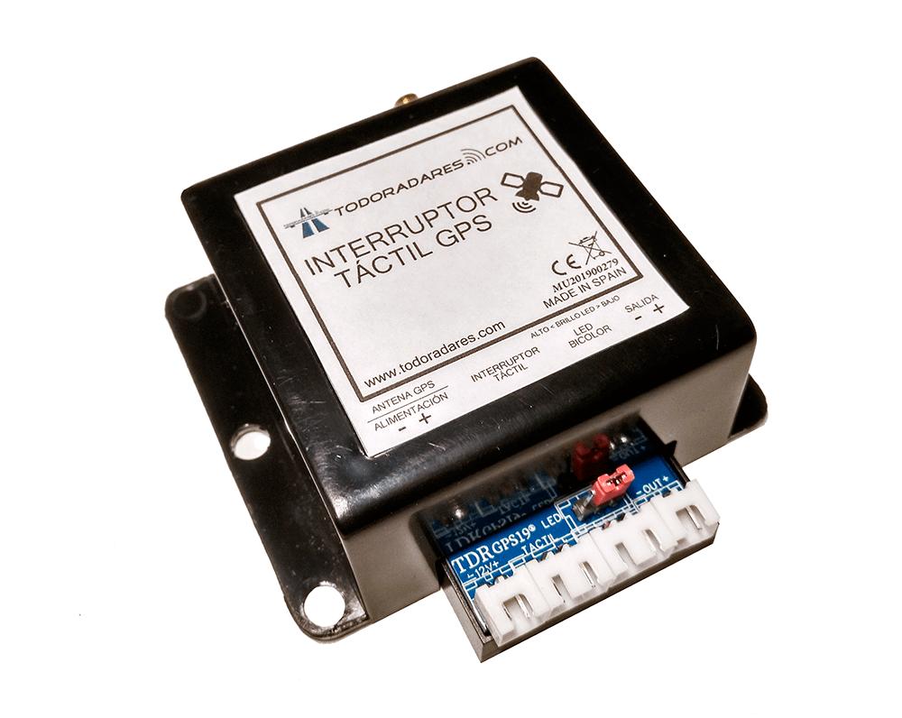 Interruptor táctil GPS