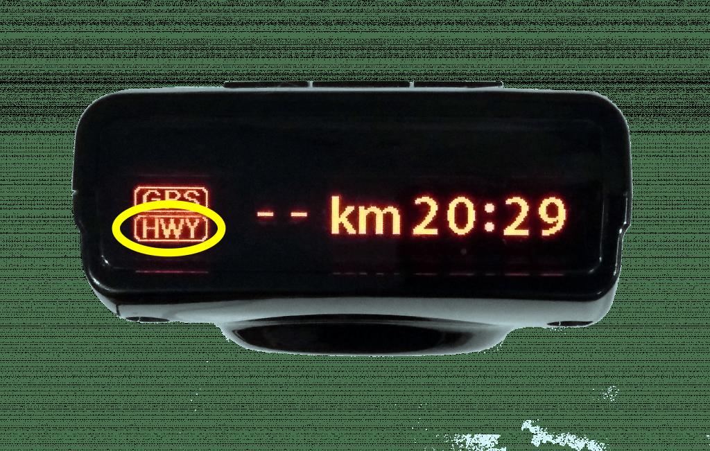 Sensibilidad equipos Genevo - Autopista detector de radar portátil