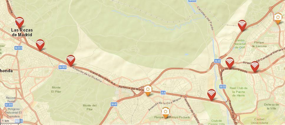 Base de datos GPS antiradar Genevo MAX