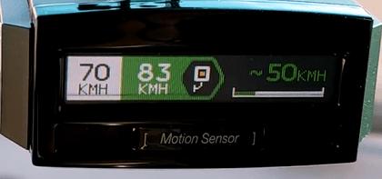 Antiradar Genevo MAX radar de tramo aviso display