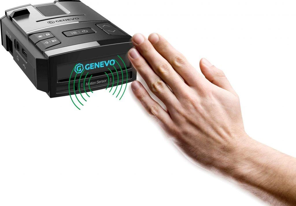 Sensor movimiento antiradar Genevo MAX detector de radar portátil