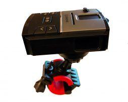 Soporte moto detectores radar Genevo