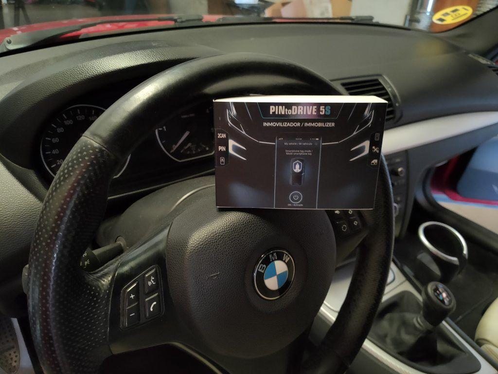 Inmovilizador antirrobo digital por canbus en BMW Serie 1 E81