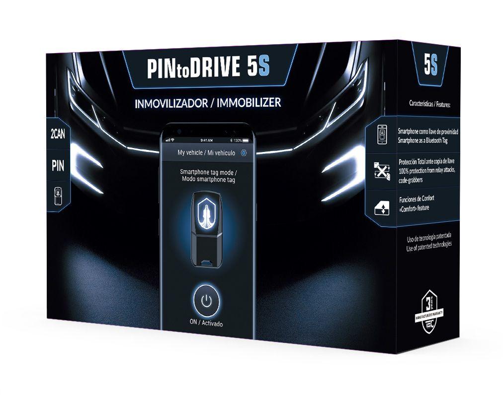 Inmovilizador antirrobo digital Pintodrive por canbus