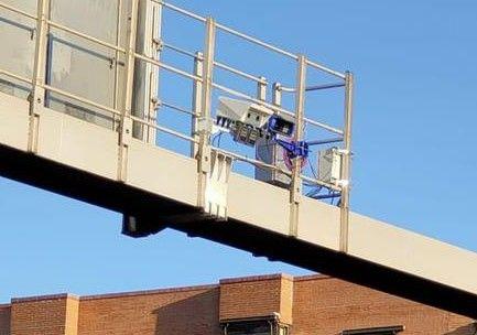 Nueva cámara en la M-30 Puente de Vallecas